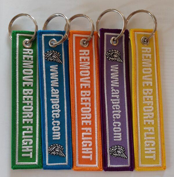 Porte clés flamme 1