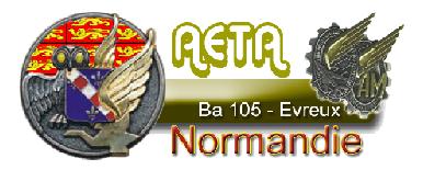 Accueil des Arpètes à EVREUX B.A.105
