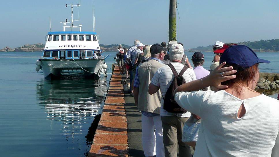 Sortie à l'île de Bréhat pour les Arpètes Bretons 1