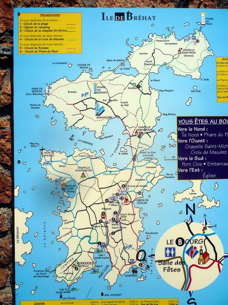 Sortie à l'île de Bréhat pour les Arpètes Bretons