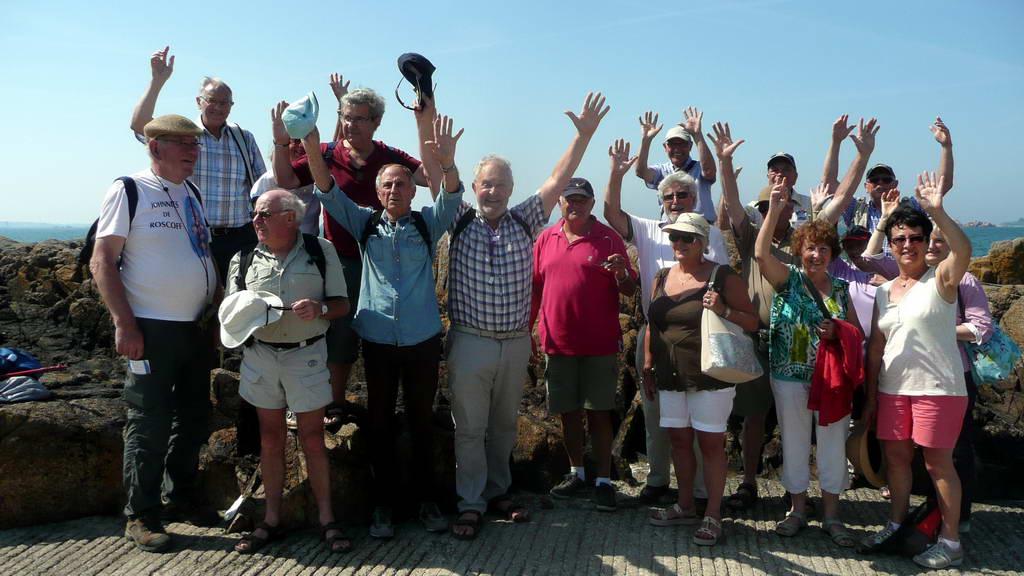 Sortie à l'île de Bréhat pour les Arpètes Bretons 34