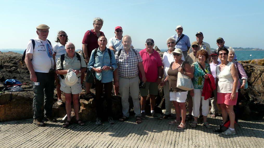 Sortie à l'île de Bréhat pour les Arpètes Bretons 35