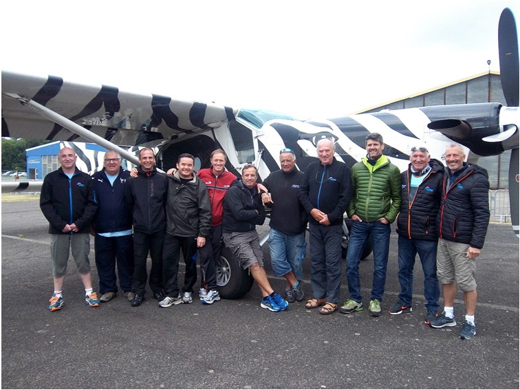 Les Arpètes parachutistes sportifs 1