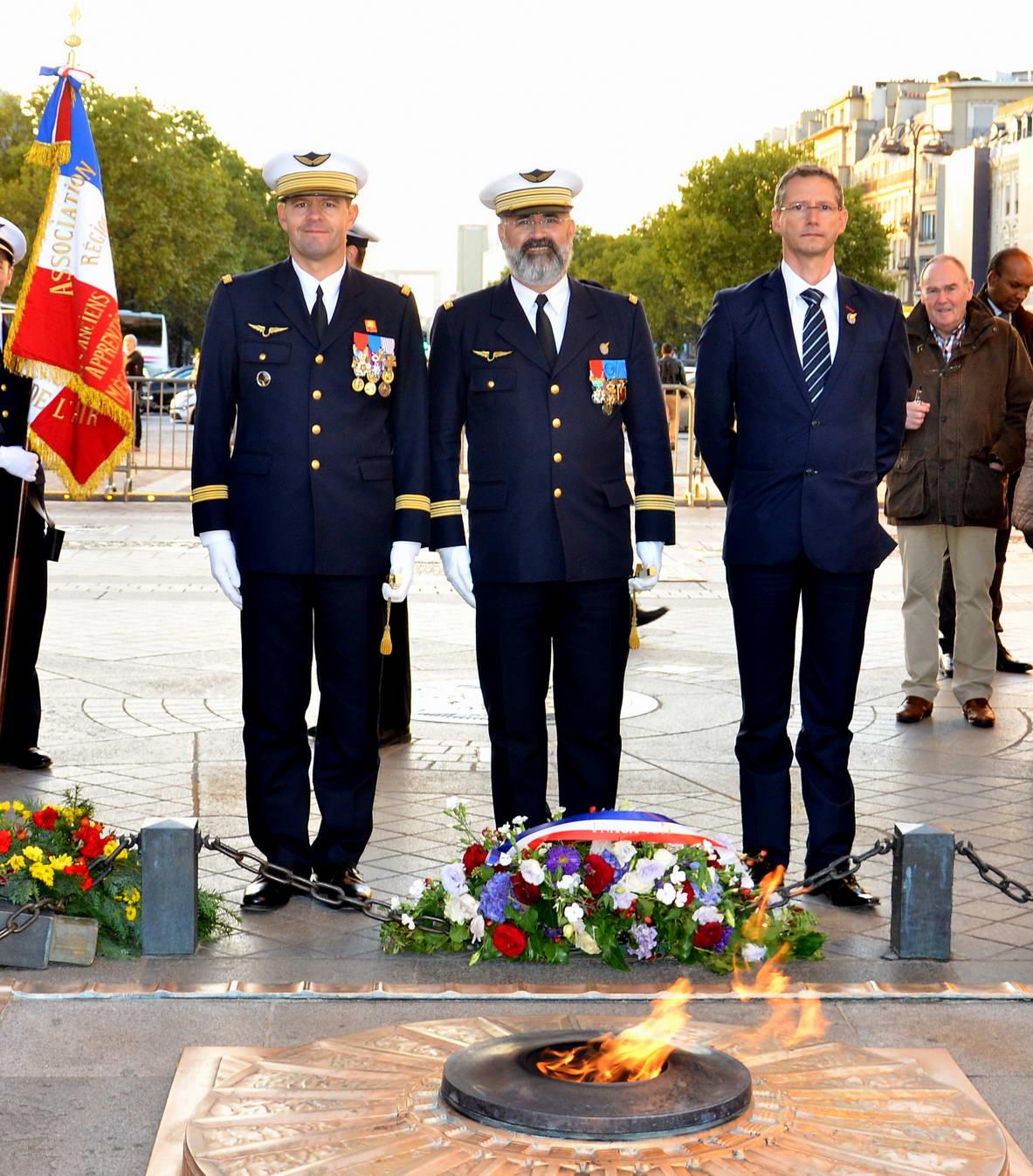 RAVIVAGE DE LA FLAMME SACRÉE PAR l'AETA 126