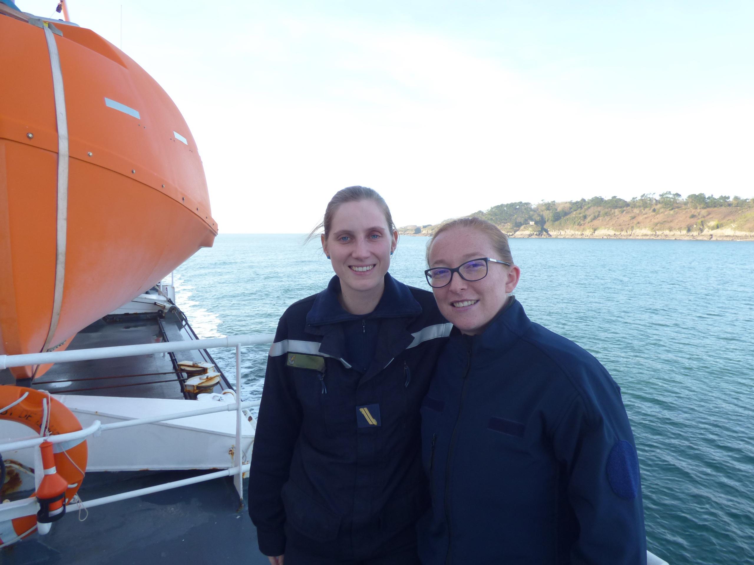 Deux Arpètes chez les marins 1