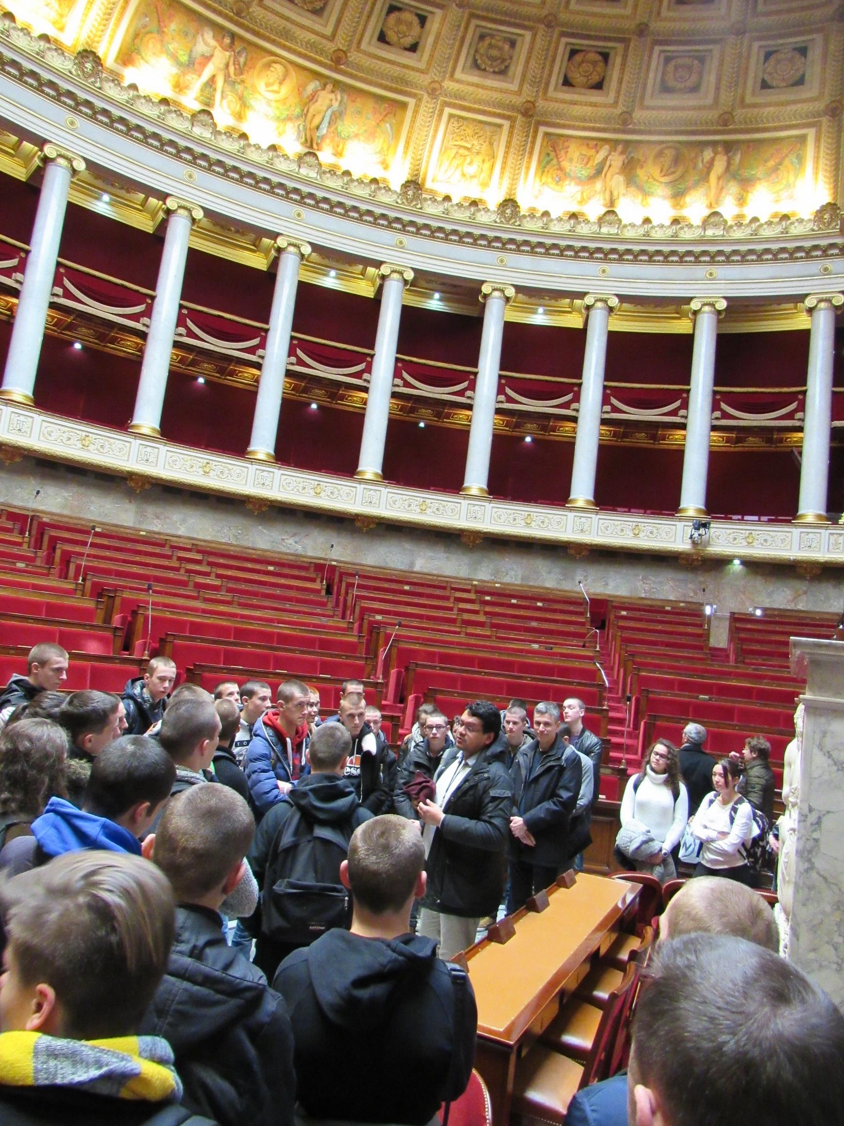 La vie à l'Ecole: Arpète citoyen à Paris 10