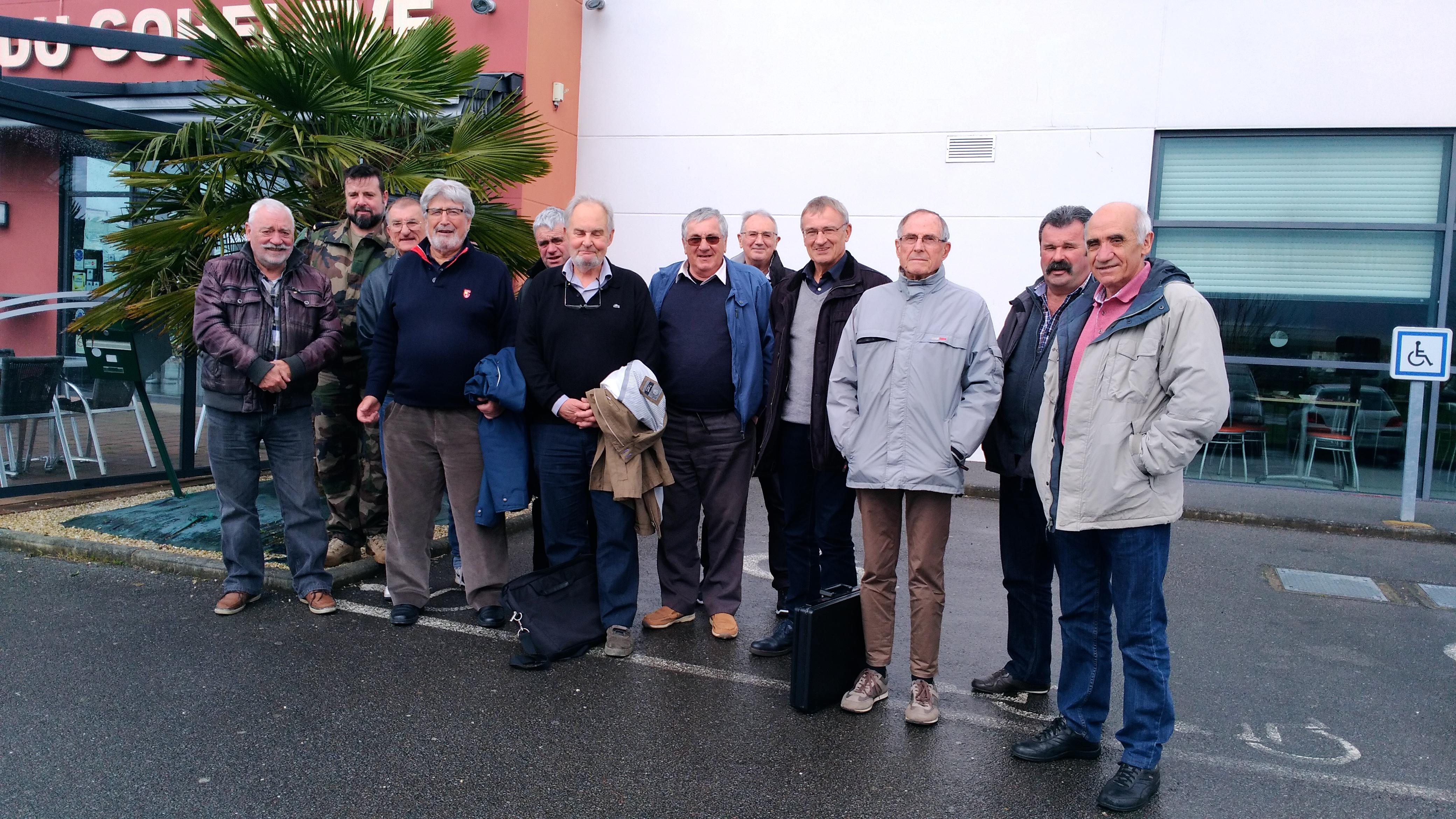 Réunion des élus de la section AETA Bretagne 1