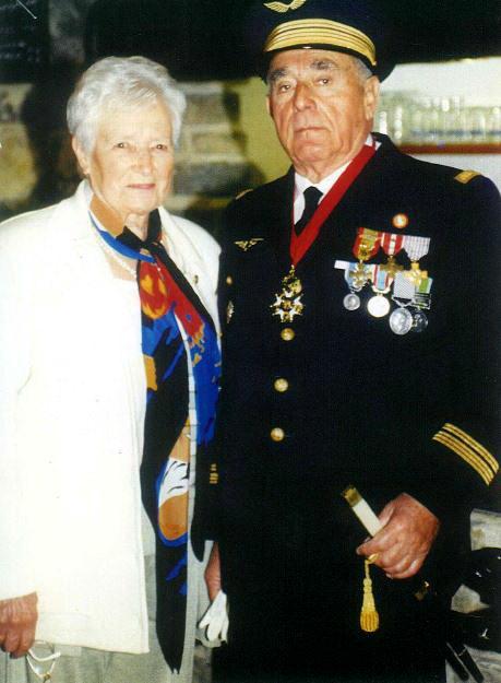 L'hommage à Louis HERVELIN de la promotion 1939 1