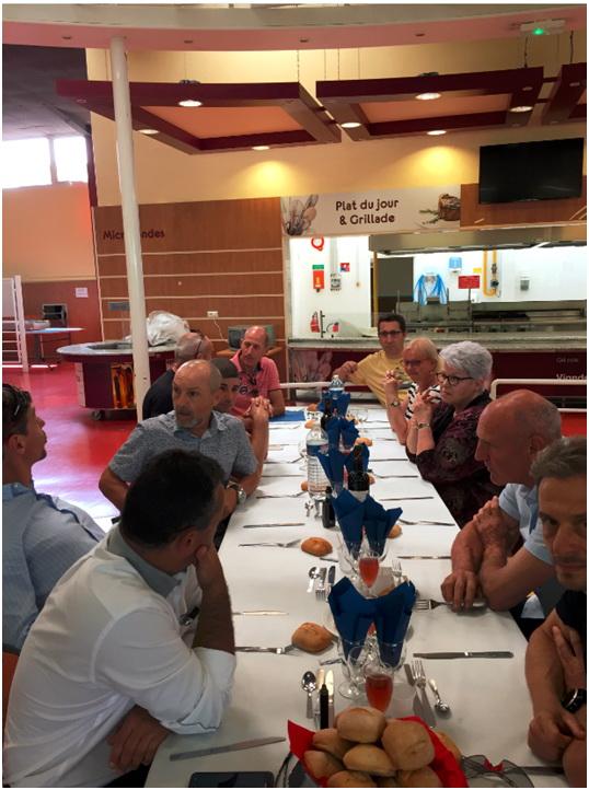 2èmeRassemblement de la Promotion P105 à Saintes le Samedi 02 Juin 2018 1