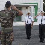 LE FANION DE LA P149 REMIS A L'AETA 1
