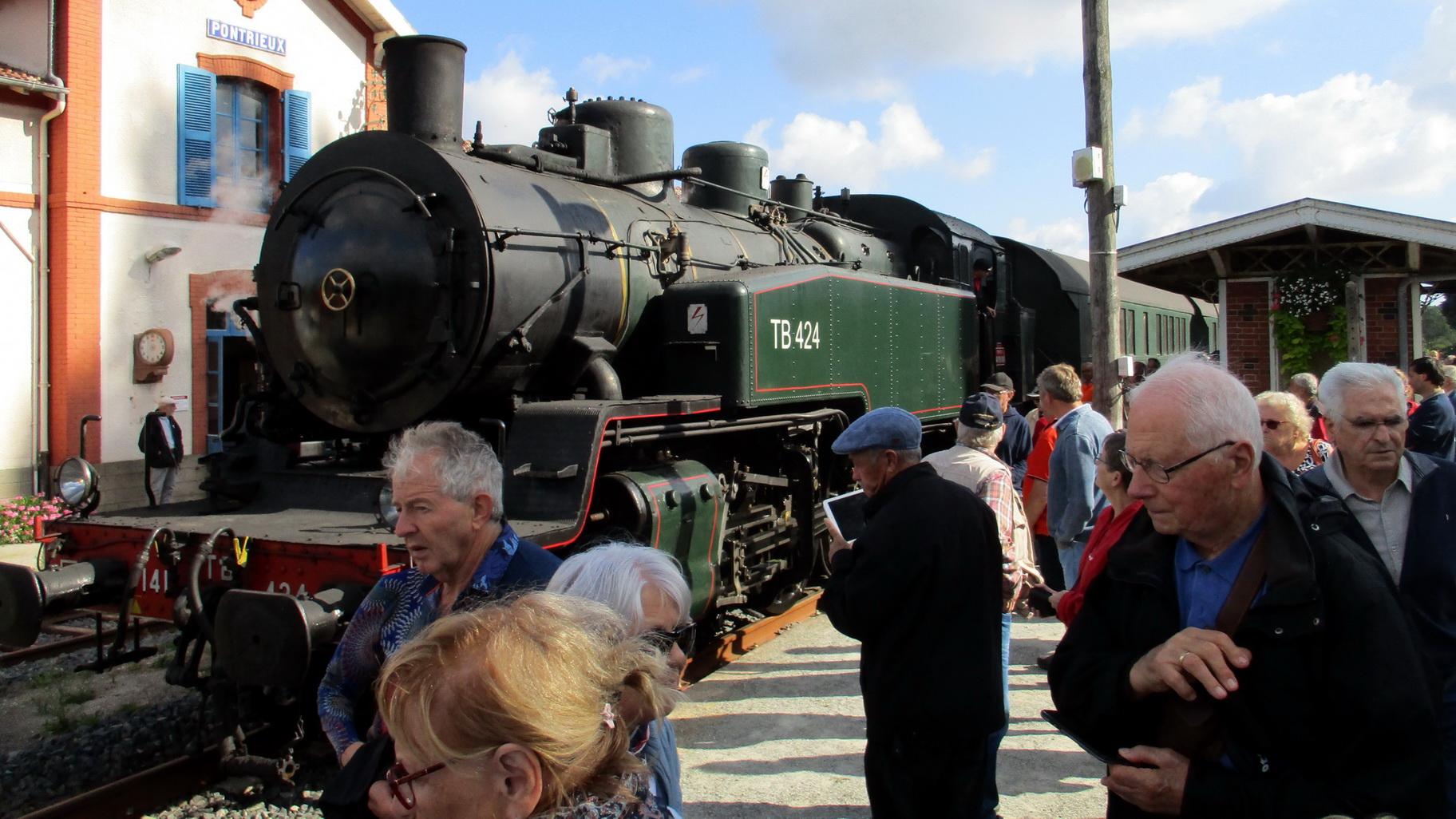 A toute vapeur pour l'AETA Bretagne 11