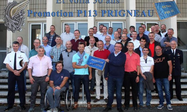 Les bleus de la P113 ont fêté leur 30 ans à Paban