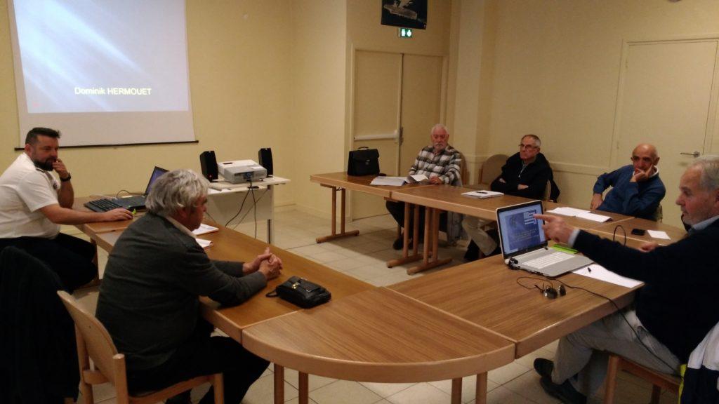 Réunion des élus de la section AETA Bretagne 2
