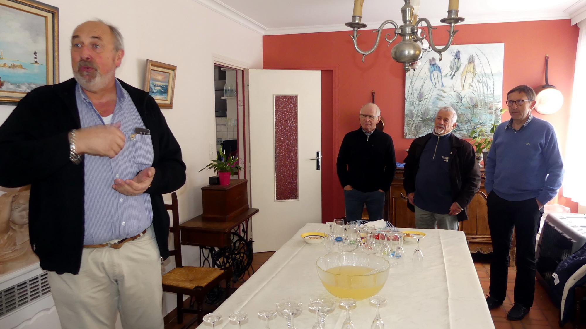 Repas annuel des Arpètes de la Manche 1