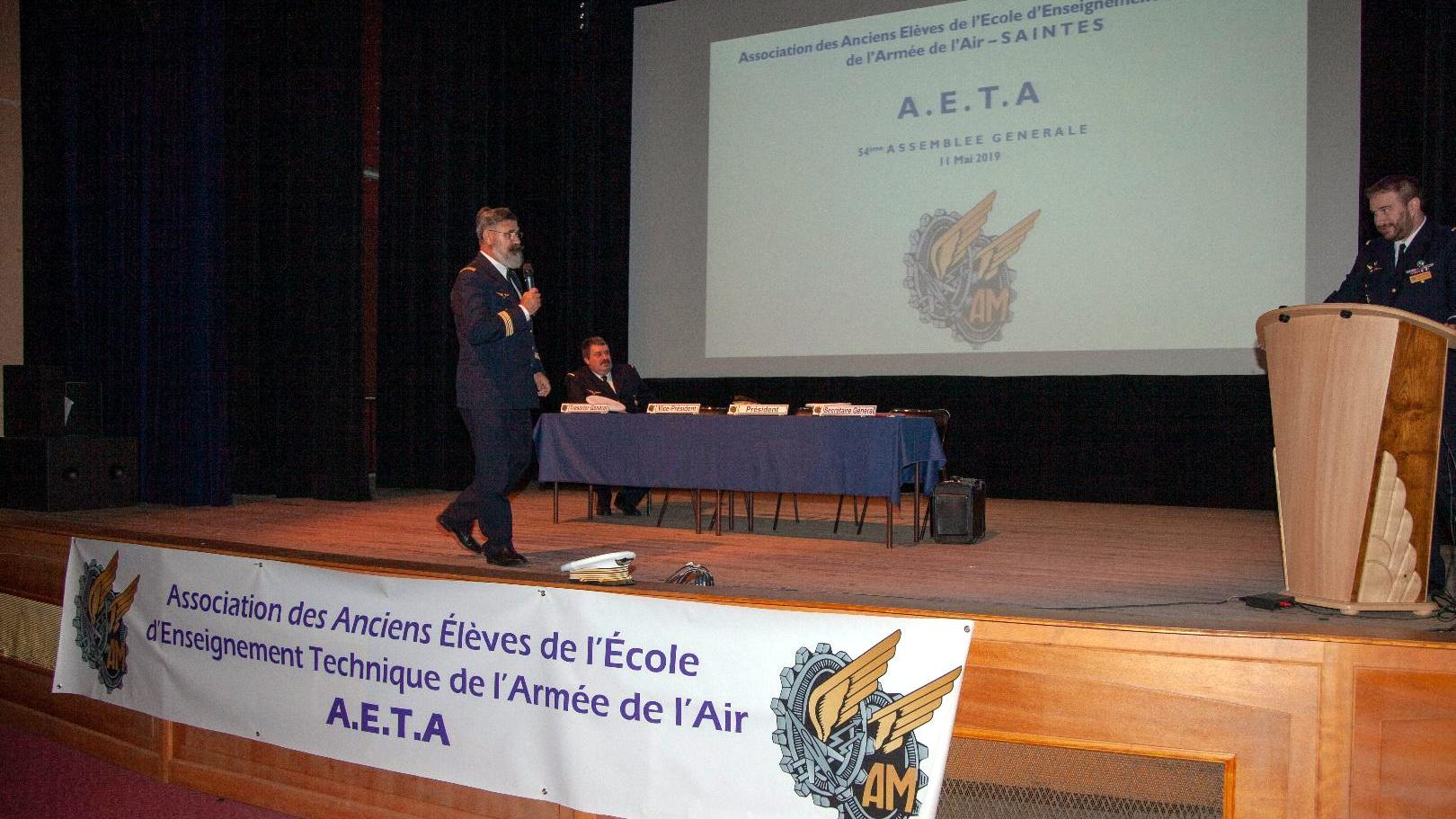 Photos de l'Assemblée Générale 2019 de l'AETA 94