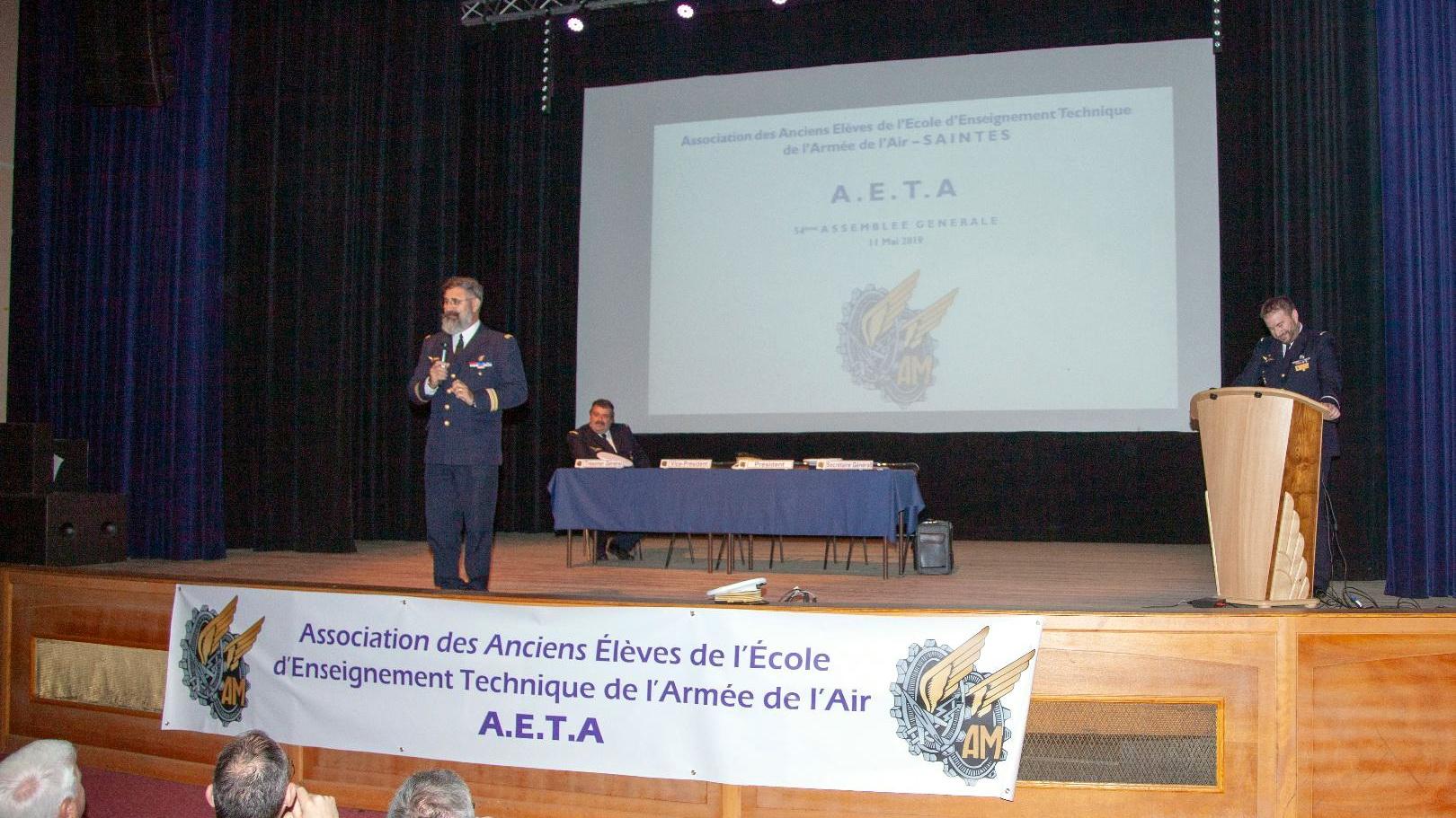 Photos de l'Assemblée Générale 2019 de l'AETA 95