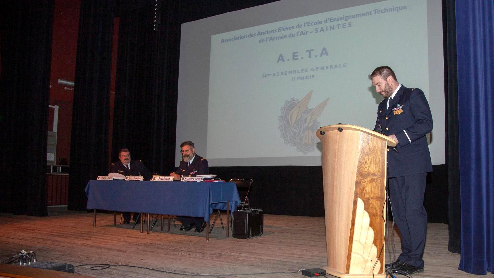 Photos de l'Assemblée Générale 2019 de l'AETA 96