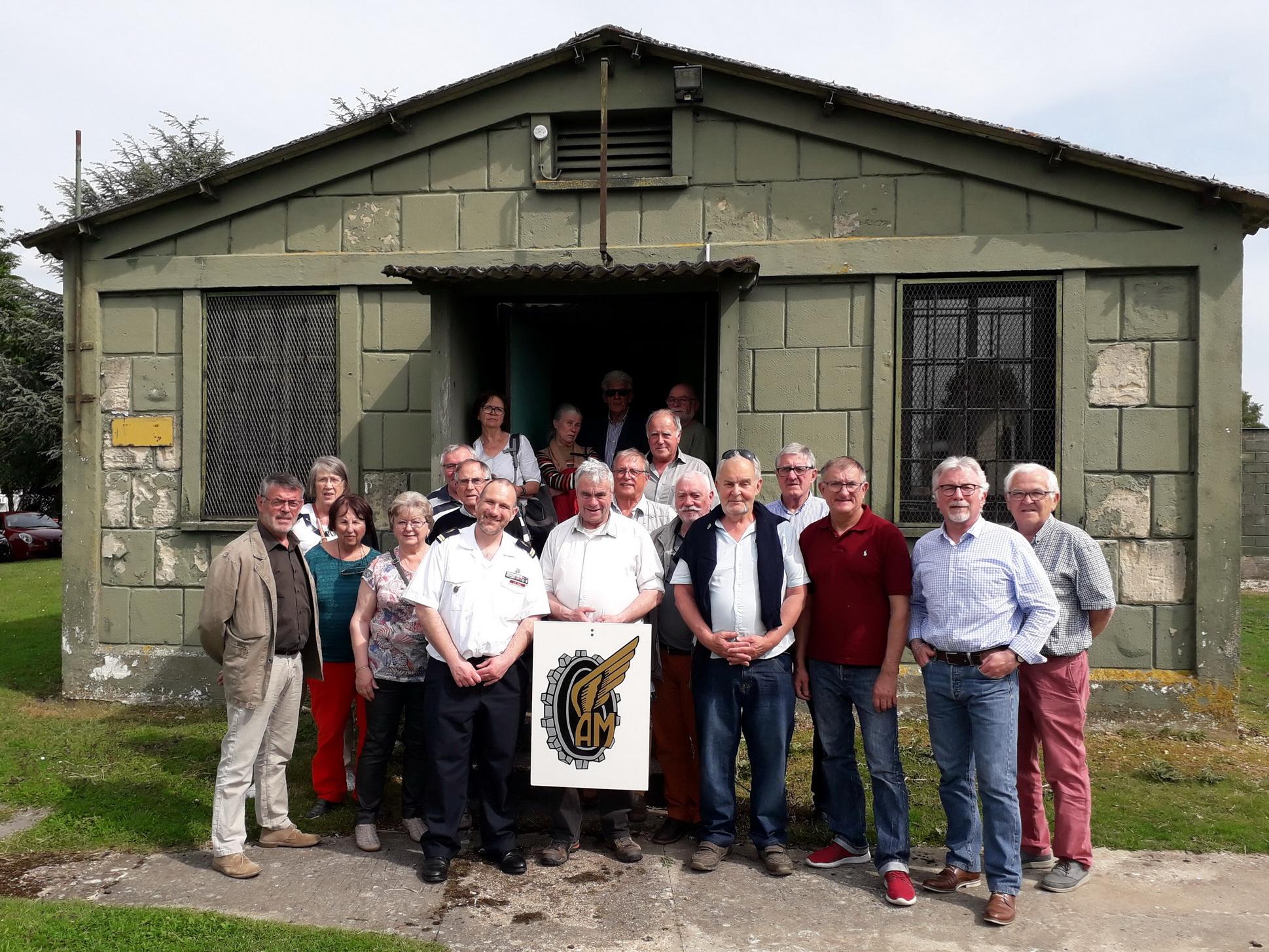 L'AETA Bretagne en visite sur la base d'EVREUX