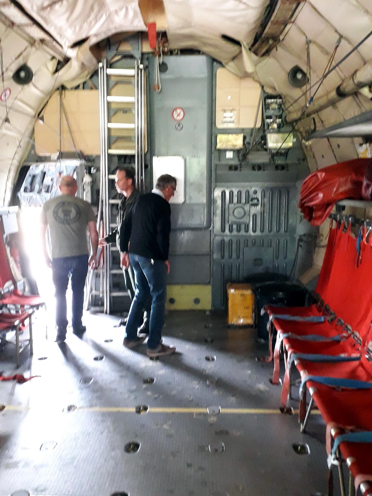 L'AETA Bretagne en visite sur la base d'EVREUX 7