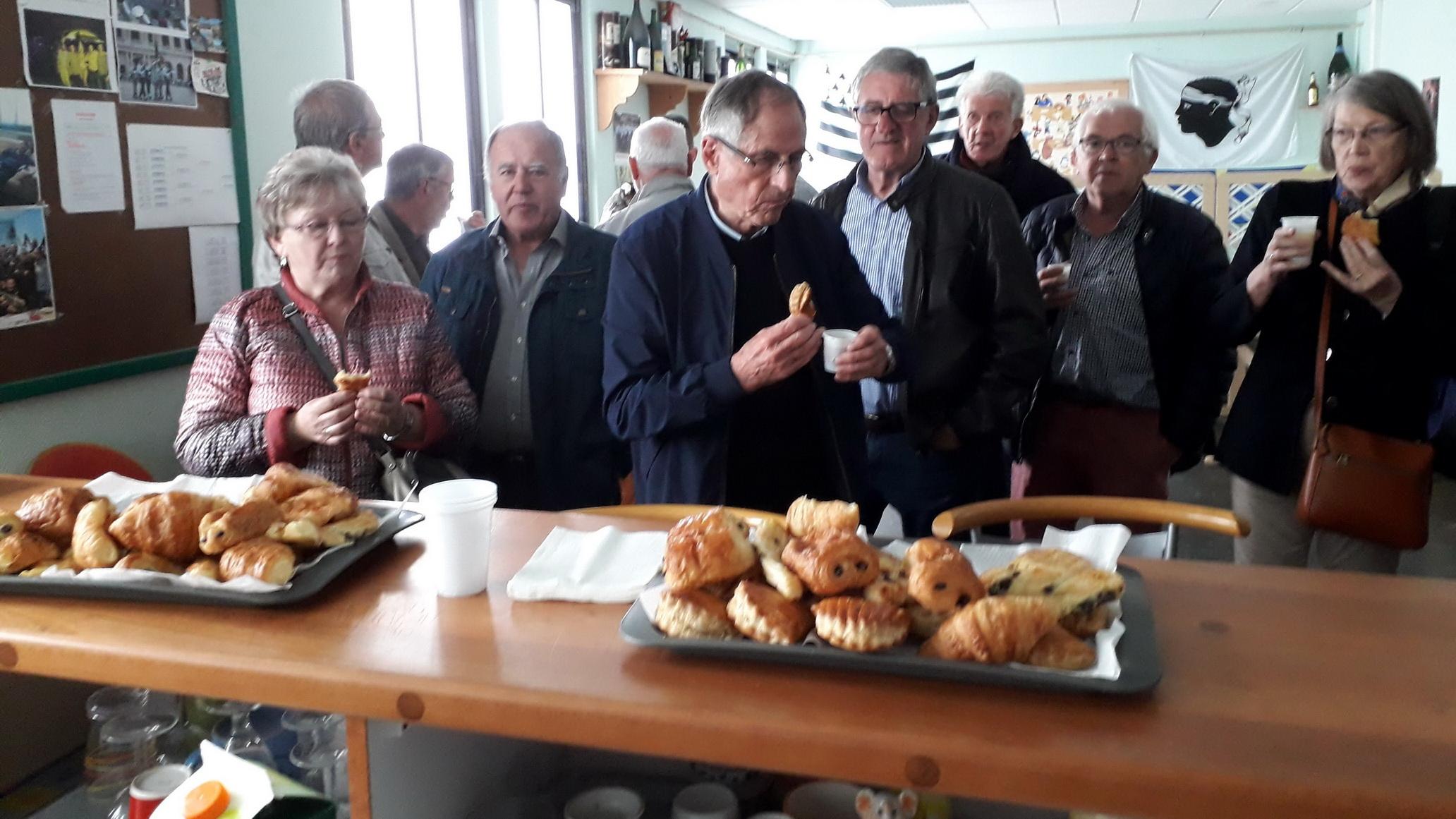 L'AETA Bretagne en visite sur la base d'EVREUX 2