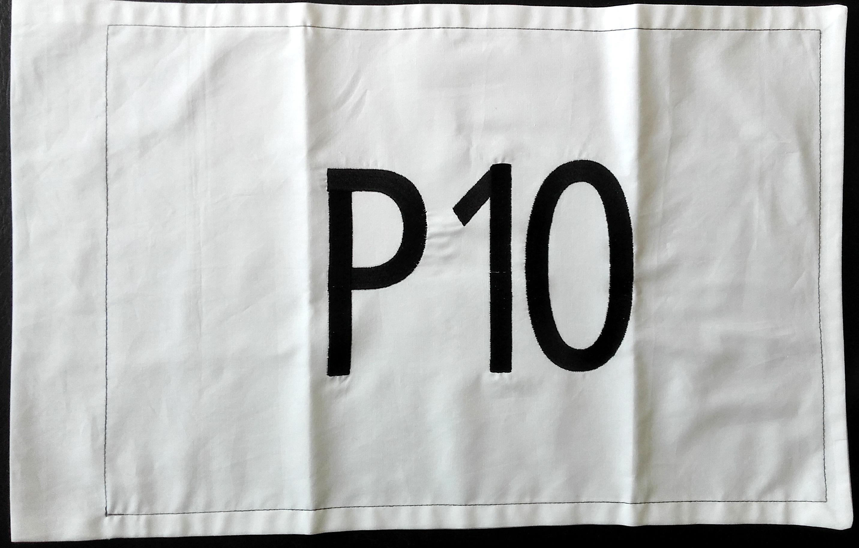 REMISE DU FANION DE LA P150 À LA GARDE DE L'AETA 7