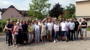 Les P46 en Alsace pour leur 55ème anniversaire 3