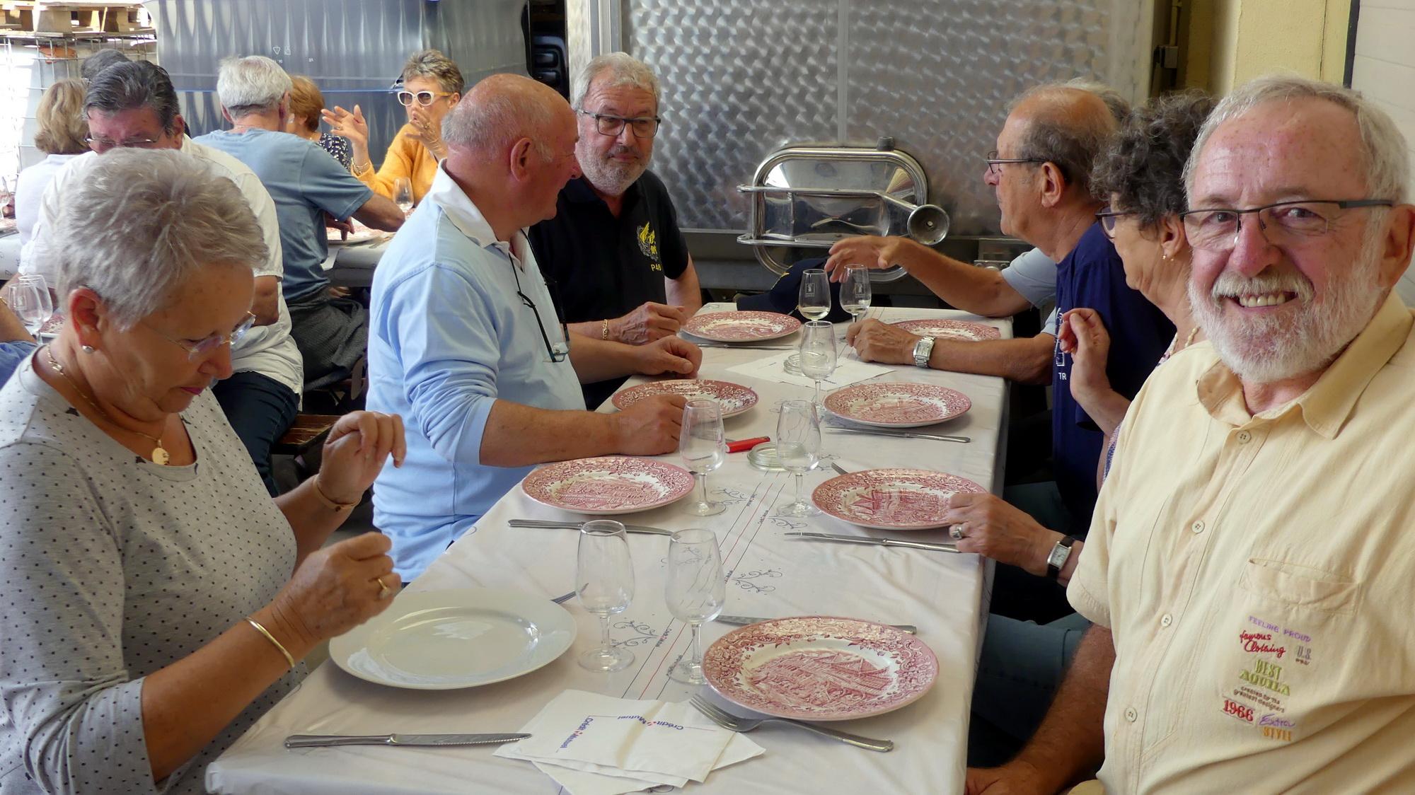 Les P46 en Alsace pour leur 55ème anniversaire 16