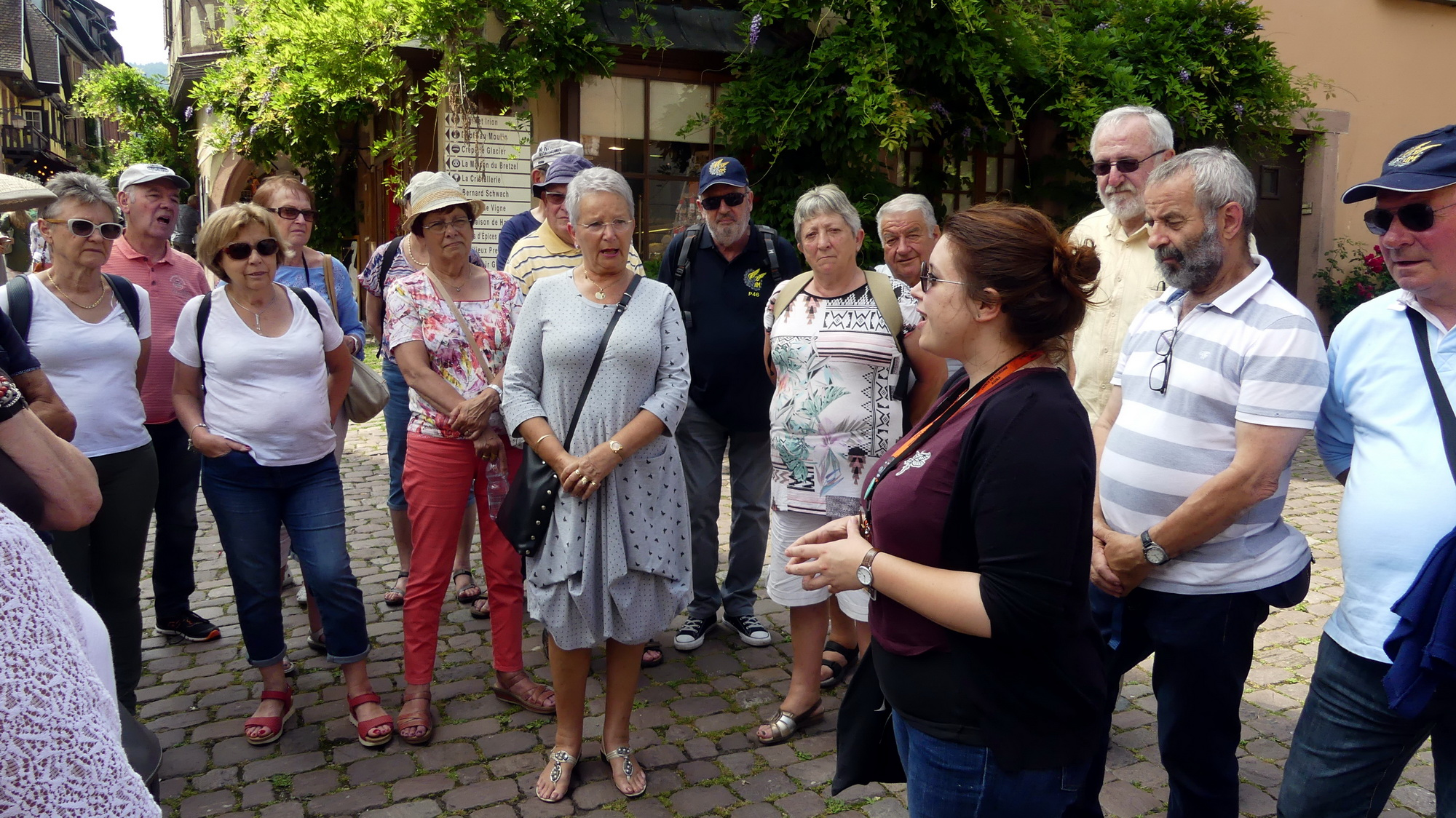Les P46 en Alsace pour leur 55ème anniversaire 30