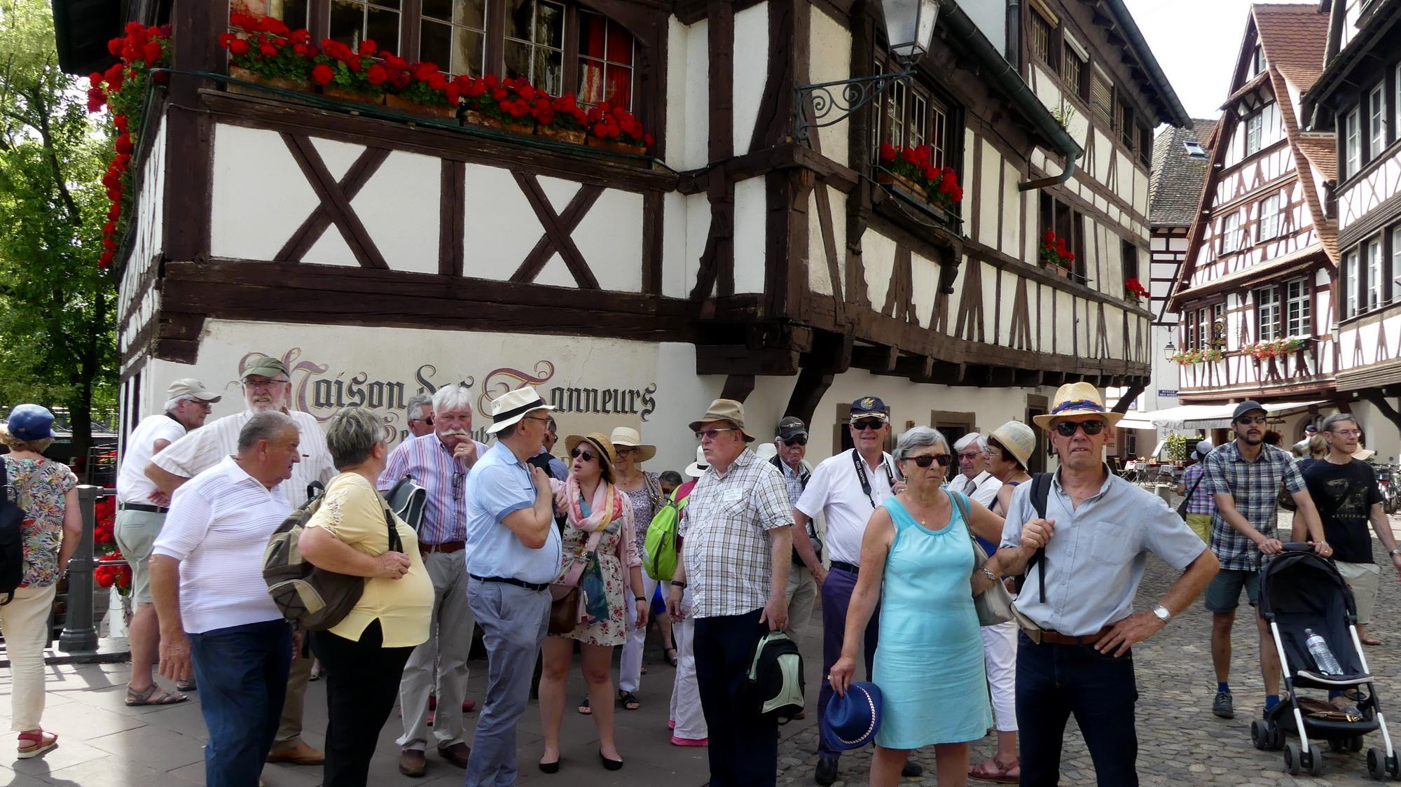 Les P46 en Alsace pour leur 55ème anniversaire 80
