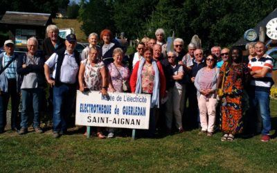 Les arpètes bretons autour du lac de Guerlédan