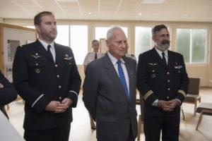 Inauguration de la nouvelle salle tradition de l'école baptisée « Les Écuyers du Ciel », Colonel Michel Ribot 4