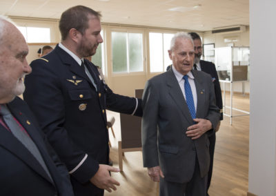 Inauguration de la nouvelle salle tradition de l'école baptisée « Les Écuyers du Ciel », Colonel Michel Ribot 5