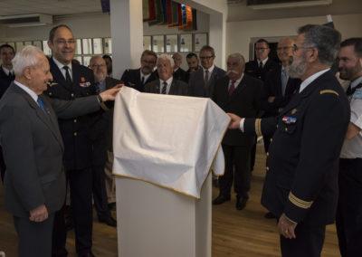 Inauguration de la nouvelle salle tradition de l'école baptisée « Les Écuyers du Ciel », Colonel Michel Ribot 6