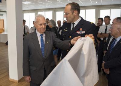 Inauguration de la nouvelle salle tradition de l'école baptisée « Les Écuyers du Ciel », Colonel Michel Ribot 7