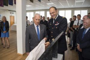 Inauguration de la nouvelle salle tradition de l'école baptisée « Les Écuyers du Ciel », Colonel Michel Ribot 8