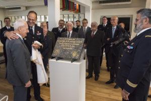 Inauguration de la nouvelle salle tradition de l'école baptisée « Les Écuyers du Ciel », Colonel Michel Ribot 10