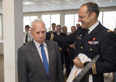 Inauguration de la nouvelle salle tradition de l'école baptisée « Les Écuyers du Ciel », Colonel Michel Ribot 11