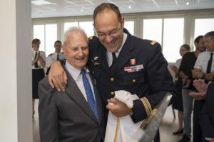 Inauguration de la nouvelle salle tradition de l'école baptisée « Les Écuyers du Ciel », Colonel Michel Ribot 12