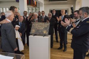 Inauguration de la nouvelle salle tradition de l'école baptisée « Les Écuyers du Ciel », Colonel Michel Ribot 13