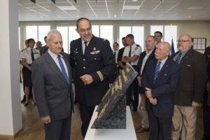Inauguration de la nouvelle salle tradition de l'école baptisée « Les Écuyers du Ciel », Colonel Michel Ribot 14