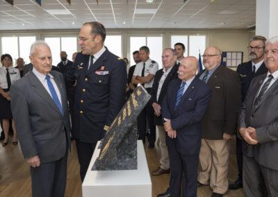 Inauguration de la nouvelle salle tradition de l'école baptisée « Les Écuyers du Ciel », Colonel Michel Ribot 15
