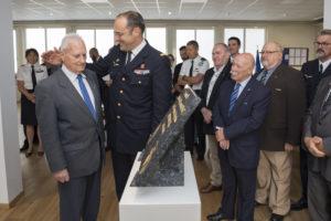 Inauguration de la nouvelle salle tradition de l'école baptisée « Les Écuyers du Ciel », Colonel Michel Ribot 16
