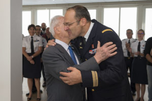 Inauguration de la nouvelle salle tradition de l'école baptisée « Les Écuyers du Ciel », Colonel Michel Ribot 18