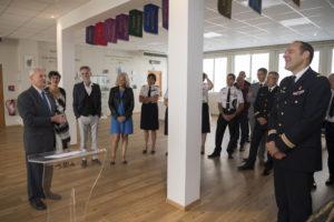 Inauguration de la nouvelle salle tradition de l'école baptisée « Les Écuyers du Ciel », Colonel Michel Ribot 24