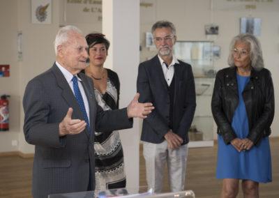 Inauguration de la nouvelle salle tradition de l'école baptisée « Les Écuyers du Ciel », Colonel Michel Ribot 25