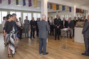 Inauguration de la nouvelle salle tradition de l'école baptisée « Les Écuyers du Ciel », Colonel Michel Ribot 26
