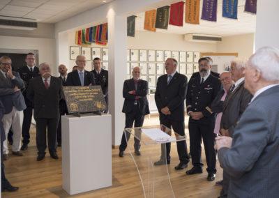 Inauguration de la nouvelle salle tradition de l'école baptisée « Les Écuyers du Ciel », Colonel Michel Ribot 27