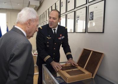 Inauguration de la nouvelle salle tradition de l'école baptisée « Les Écuyers du Ciel », Colonel Michel Ribot 28