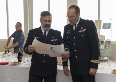 Inauguration de la nouvelle salle tradition de l'école baptisée « Les Écuyers du Ciel », Colonel Michel Ribot 32
