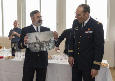 Inauguration de la nouvelle salle tradition de l'école baptisée « Les Écuyers du Ciel », Colonel Michel Ribot 33